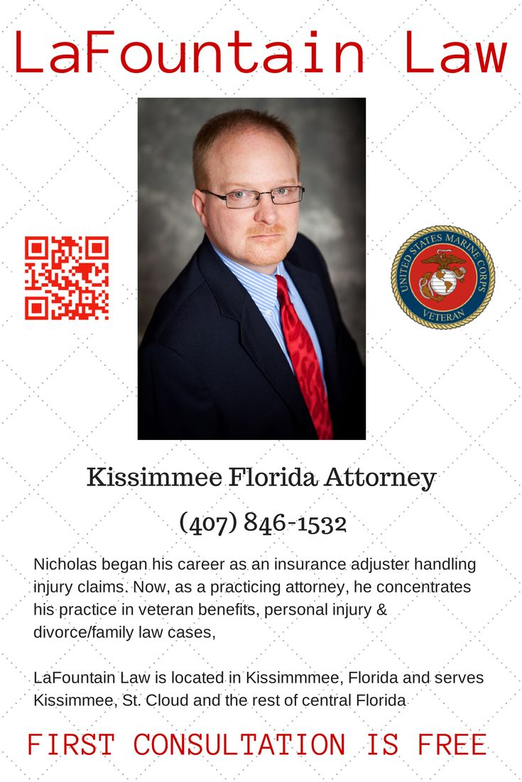 Attorney handling cases in Kissimmee, Florida, St. Cloud
