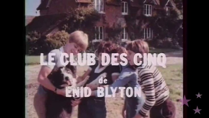"""Générique de la série tv """" Le club des cinq"""" - Sur Osibo News"""