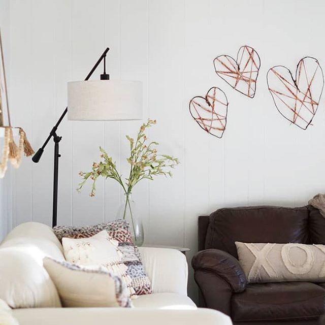 Neutral Valentines Living Room Diy Rustic Hearts Dark Paint Colors Home Decor Decor