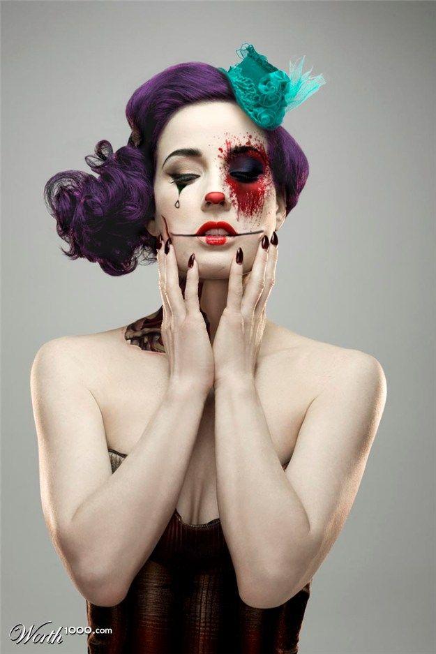 Dita Von Tesse   Evil Celebrity Clowns 6 - Worth1000 Contests