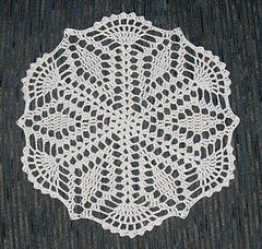 Mom's Crystal Star Doily, Free Crochet Pattern on Ravelry