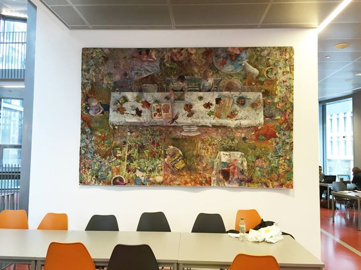 Annika Ekdahl FOLLOW ME.... a two tapestry commission. Lovely work. You can see details of her work on her website and Facebook pages.