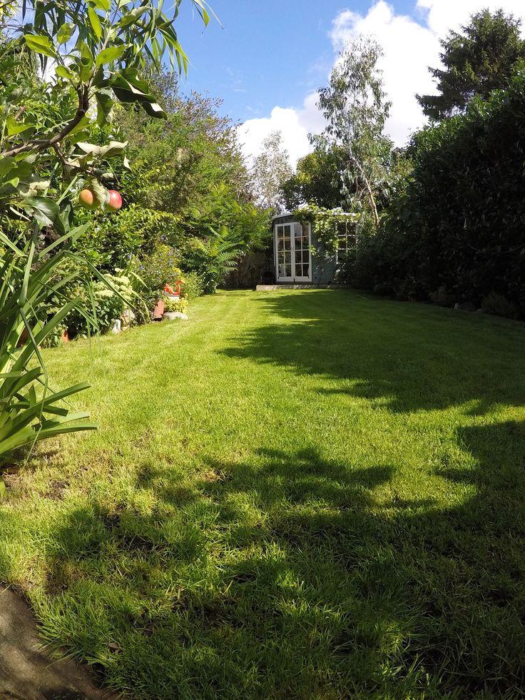 Summerhouse, Garden, Gardening, Lawn, Grass, Victorian House, Renovation.