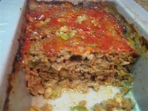 recipe: venison meatloaf with oatmeal [36]