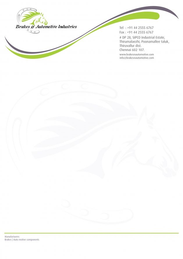 Best  Letterhead Format Ideas On   Professional