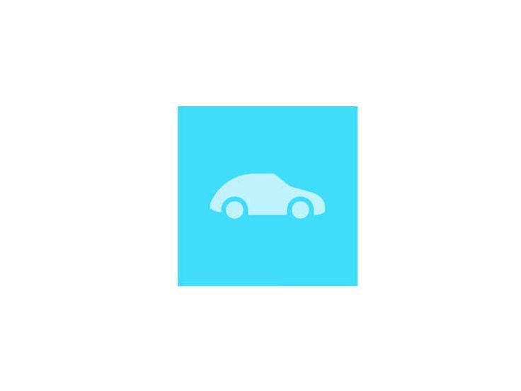Car Icon Design by Sascha Elmers #Icon #Picto #Car