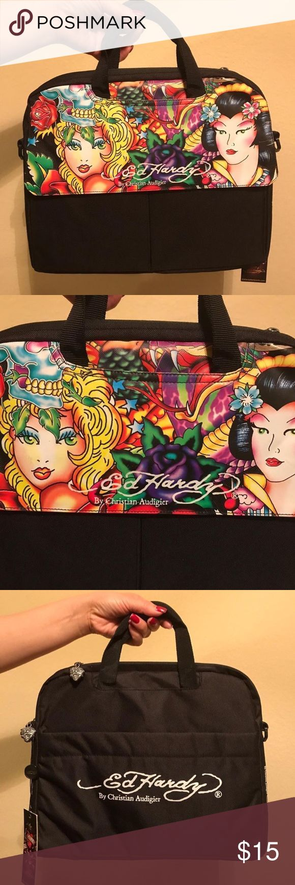 New Ed Hardy by Christian Audigier Laptop Bag Brand new Ed Hardy by Christian Audigier Laptop Bag New with tags Ed Hardy by Christian Audigier Bags Laptop Bags