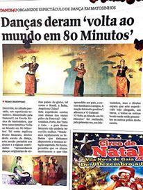 """Espetáculo """"Volta ao Mundo em 80 Minutos""""; Organização e foto: Dance4U (DEZ 2016)"""