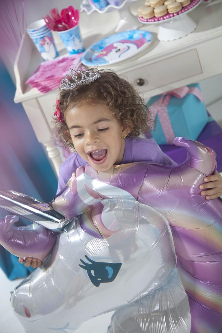 Enchanted Unicorn Party Theme #Birthday #Party #BirthdayExpress