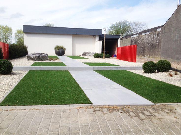 233 best minimalist gardens images on pinterest for Tuinaanleg modern