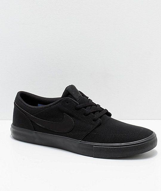 Nike SB Portmore Canvas Shoes