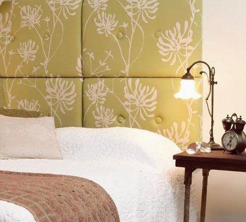 Las 25 mejores ideas sobre respaldos de cama en pinterest cabeceras de cama respaldo cama y - Hacer cabeceros tapizados ...