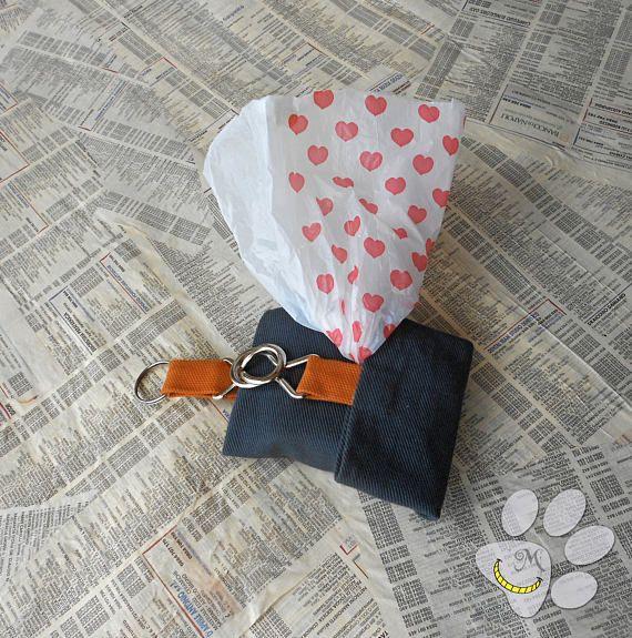 Porta bustine per cani  bustina porta sacchetti igienici per
