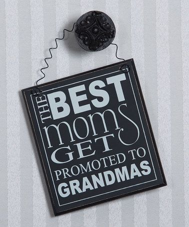 Loving this Black 'Best Moms' Magnetic Wall Art on #zulily! #zulilyfinds