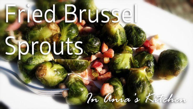 Fried Brussel Sprouts - Brukselka Smazona - Recipe #253