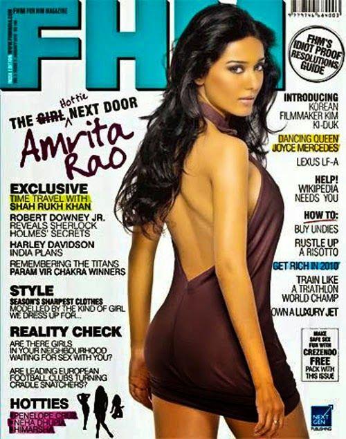 Amrita Rao on FHM India Magazine Cover http://maximcovergirls.blogspot.in/2017/02/amrita-rao-on-fhm-india-magazine-cover.html #AmritaRao #FHM  #BollywoodActress