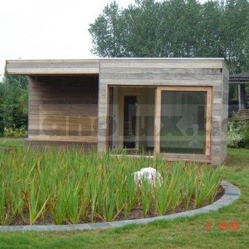 sauna buiten blokhut