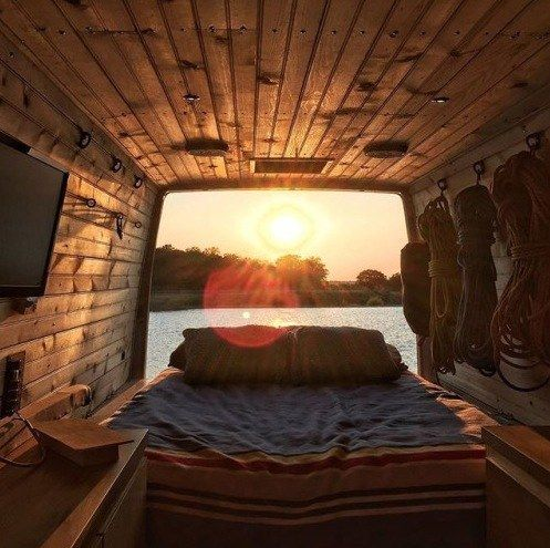 Adventurer's DIY Vanderlost Sprinter Van
