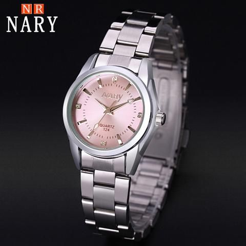 [EBay] Nary New Fashion Watch Women'S Rhinestone Quartz Watch Relogio Feminino The Women Wrist Watch Dress Fashion Watch Reloj Mujer