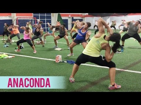 Nicki Minaj - Anaconda (Dance Fitness with Jessica) - YouTube
