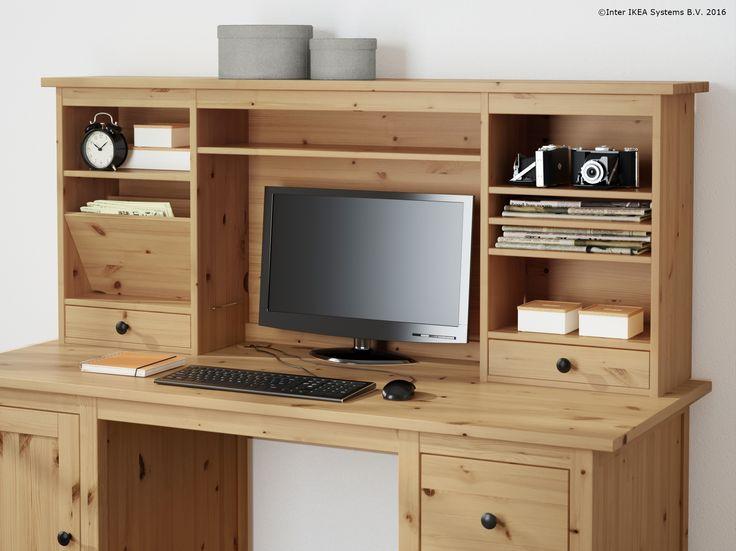 Dacă ai nevoie de mai mult spațiu pe biroul tău, poți adăuga o unitate suplimentară.