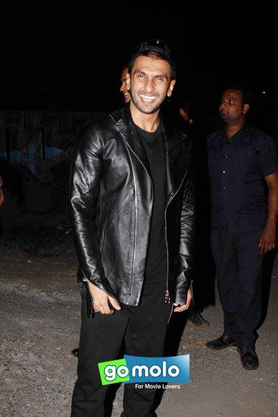 Ranveer Singh at the Promotion of Hindi movie 'Bajirao Mastani' at Chandan Cinema in Juhu, Mumbai