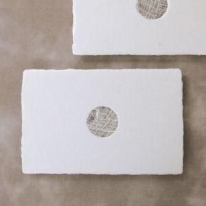 西島和紙工房 楮 透かしポストカード en 1枚入