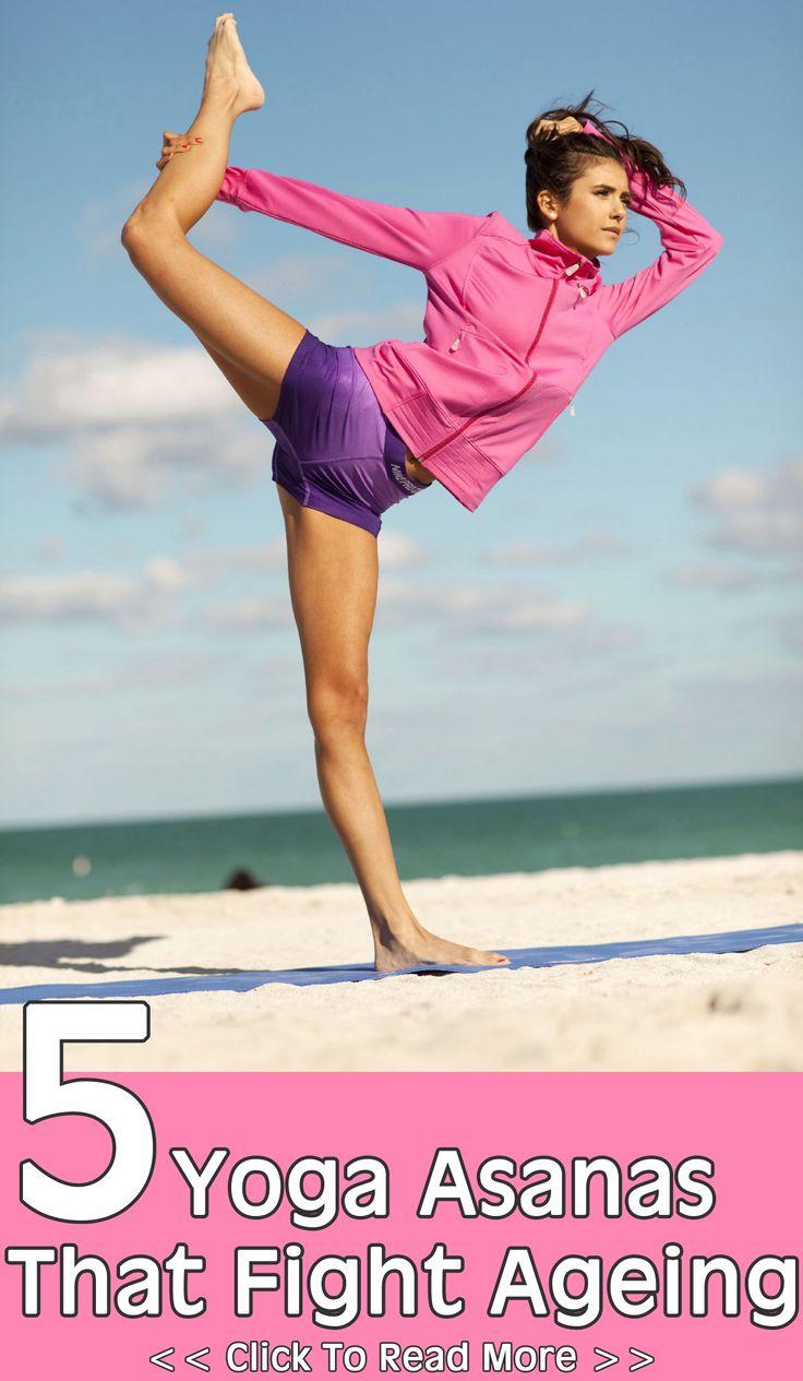 5 Yoga Asanas That Fight Ageing