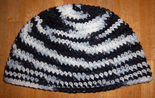 Gifts & Talents: I crochet ;) this is a beanie I made for my daughter Josephina last year