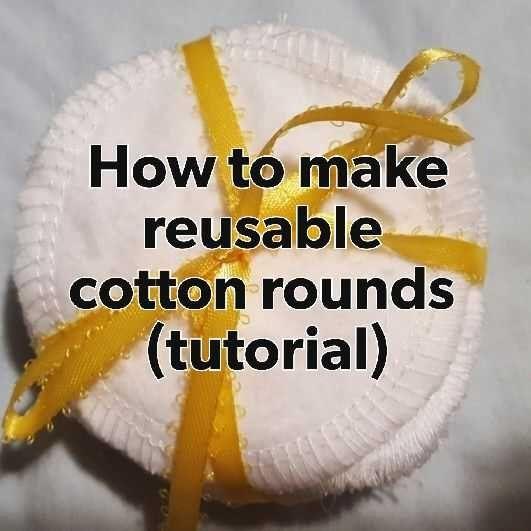 Ich mache jetzt schon eine Weile wiederverwendbare Baumwollrunden. Ich verkaufe sie auf Etsy. …   – DIY & Crafts