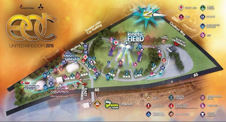 Site Layout for EDC UK