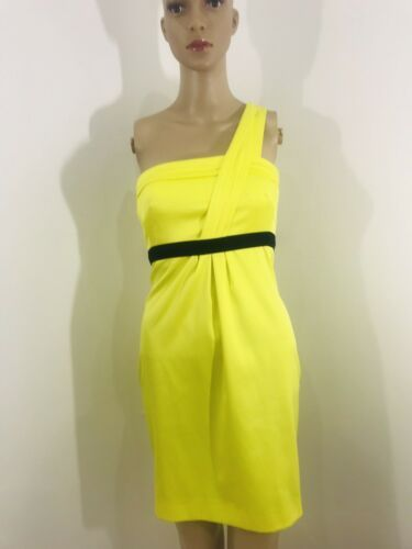 752eb06011a5b9 Details about BRAND NEW River Island Neon Yellow One Shoulder Strapless  Mini Dress Size 6 | Fashion | Strapless mini dress, Summer dresses, Fashion