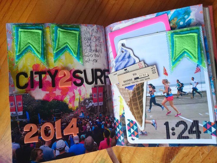 art journal - running