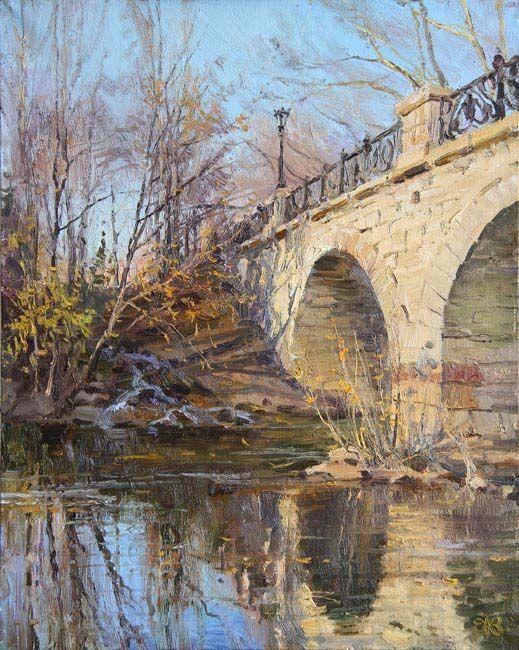 Efremov Alexey. Tsar's bridge