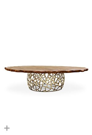 Apis Dining Table II | BRABBU elle decor furniture, bedroom design ideas, living room ideas http://brabbu.com/casegoods/apis2-dining-table.php