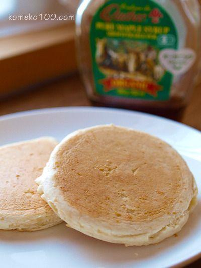 発芽玄米粉のパンケーキ by タモリサクミさん | レシピブログ - 料理 ...