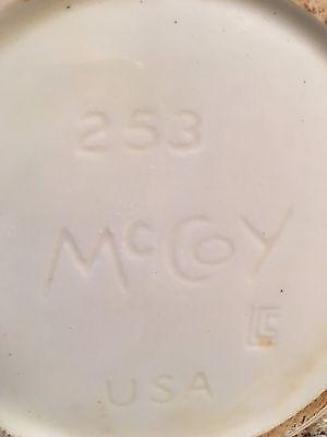 Vintage McCoy Pottery Canister 8 pc set