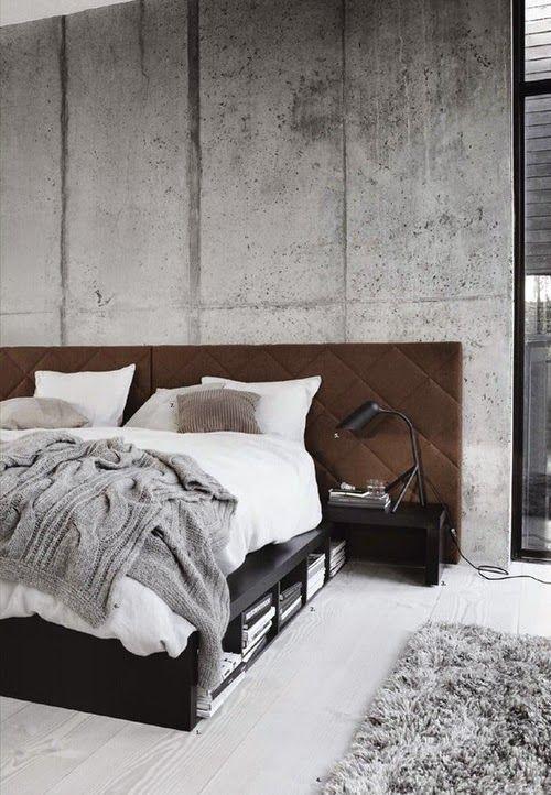 Inred med betong