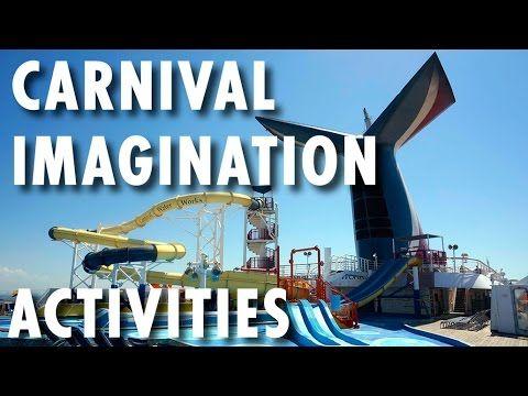▶ Carnival Imagination Review & Tour: Activities ~ Carnival Cruise Lines ~ Cruise Ship Review & Tour – PopularCruising.com