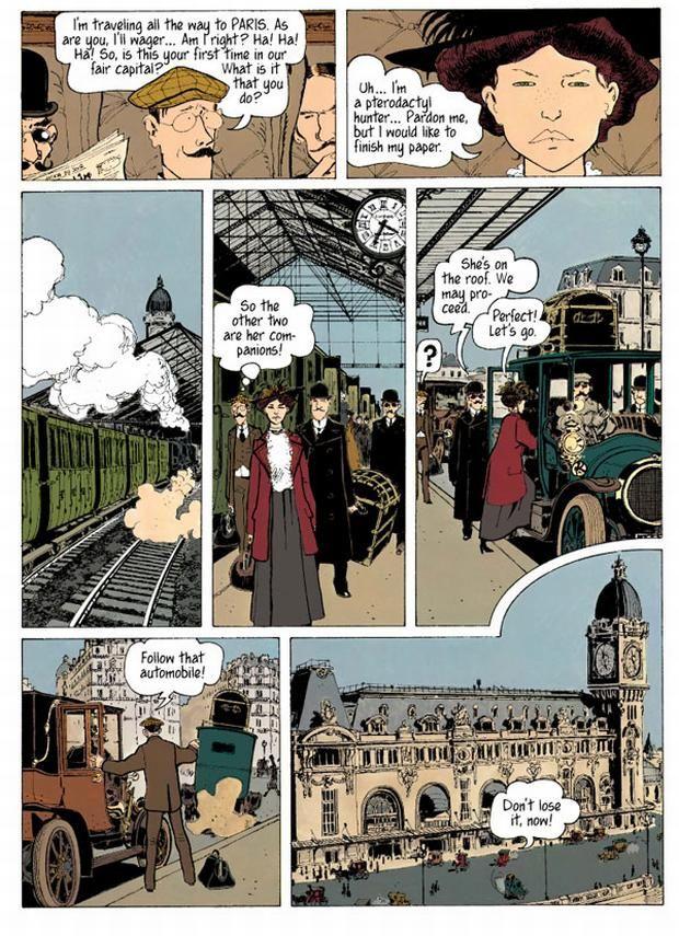 Adèle Blanc-Sec - English version of Adèle et la Bête (Terror over Paris).