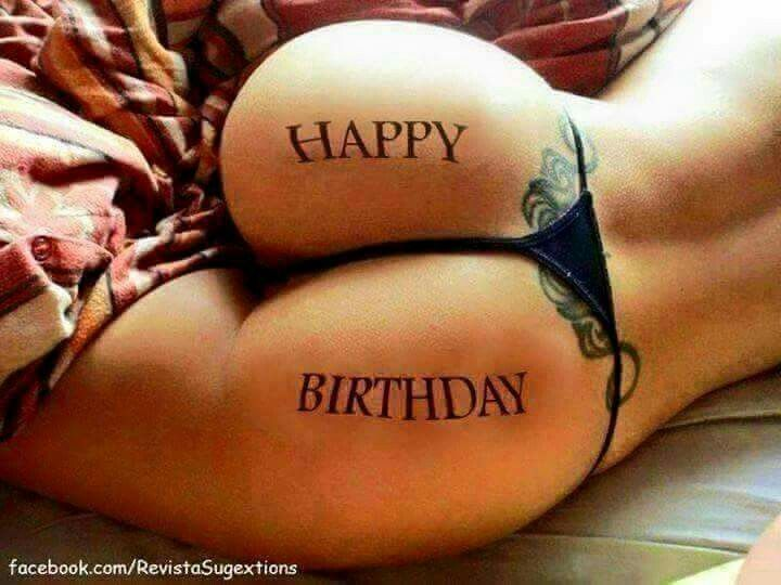 happy birthday woman naked