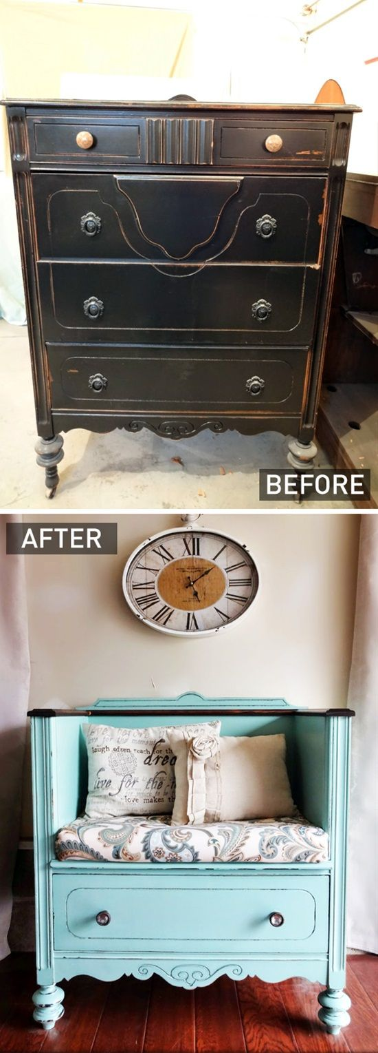 You don't have to spend a fortune when furnishing your home. There are a lot of furniture pieces you can make yourself or by re-purposing used furniture. This will not only save you tons of money, but you also can customize you furniture as much as you like to have a stunning home as you've always imagined.