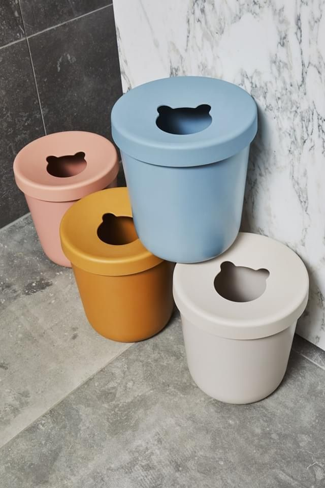 Poubelle Liewood In 2020 Trash Can Canning Toilet Paper