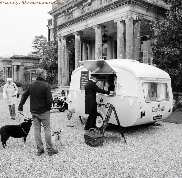 Caravanilla the original vintage ice cream caravan on the south coast of England. Scooping up at your event xx