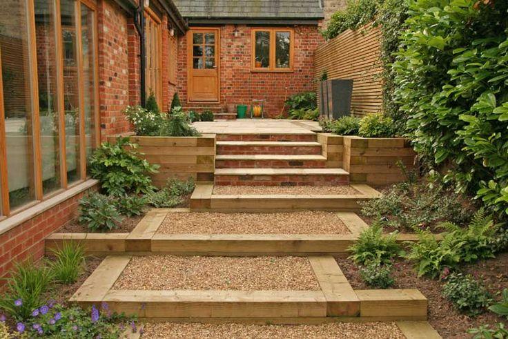 28 best images about landscape steps on pinterest for Garden steps design