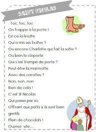 poême saint nicolas - Recherche Google