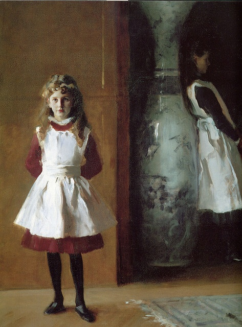 sargent girls John singer sargent's portrait of two girls with lanterns via explore-drawing-and-paintingcom.
