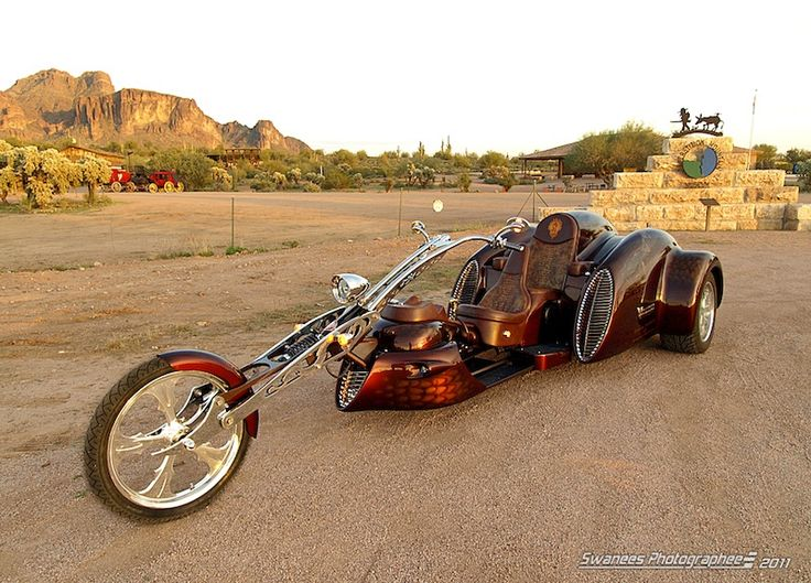 Custom trike by Phoenix Trike Works Bikes Pinterest
