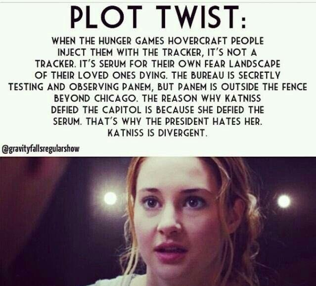 Divergent/ Hunger Games: Theories and Plot Twists - #7 - Page 1 - Wattpad