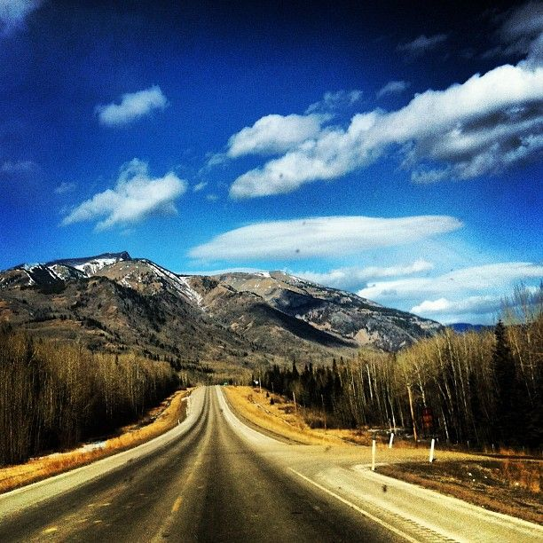 Rocky Mountains by Grande Cache